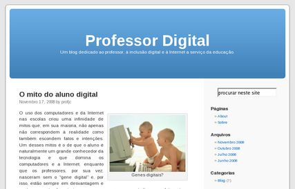 Blog Professor Digital